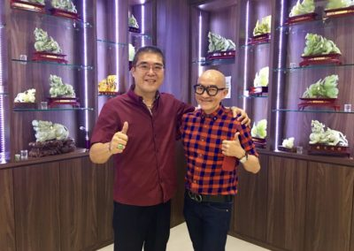 Successful Collaboration withFamous Radio DJ 花心尤发